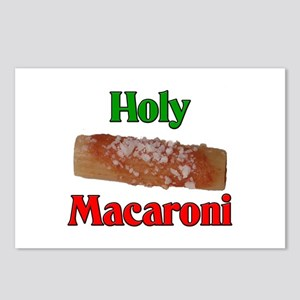Holy Macaroni Postcards (Package of 8)