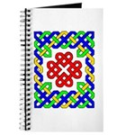 Celtic Hearts In A Frame Journal
