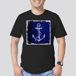nautical navy blue anchor T-Shirt