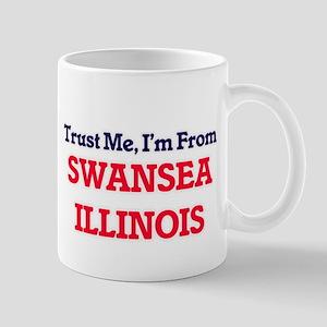 Trust Me, I'm from Swansea Illinois Mugs