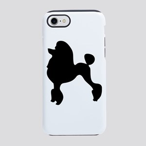 Standard Poodle Silhouette iPhone 8/7 Tough Case