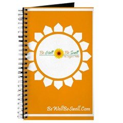 Be Well Be Swell Orange Journal