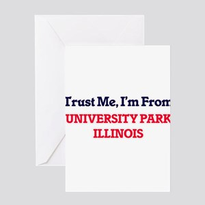 Trust Me, I'm from University Park Greeting Cards