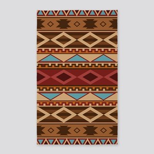 Navajo Native American Pattern Area Rug