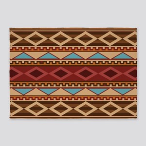 Navajo Native American Pattern 5'x7'Area Rug