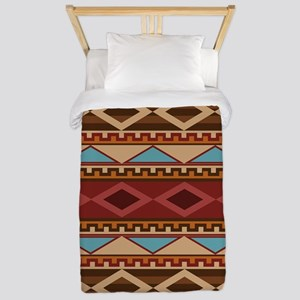 Navajo Native American Pattern Twin Duvet