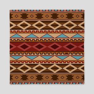 Navajo Native American Pattern Queen Duvet