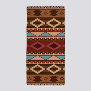 Navajo Native American Pattern Beach Towel