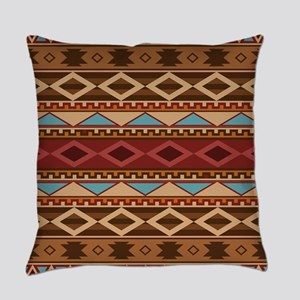 Navajo Native American Pattern Everyday Pillow