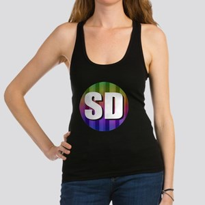 SD San Diego Racerback Tank Top