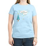 New Modern Retro Holidays Women's Light T-Shirt