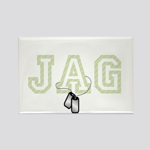 jag 2 Rectangle Magnet