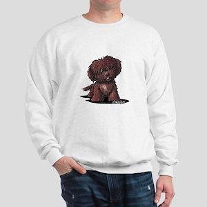 Shih Tzu Chocolate Sweatshirt