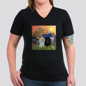 Fantasy Land & 2 Poodles White T-Shirt