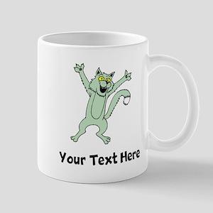 Excited Cat (Custom) Mugs