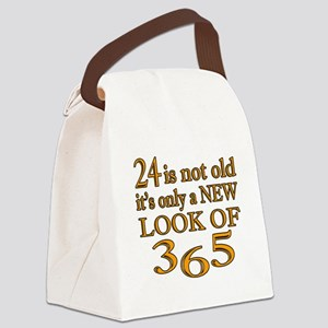 24 Is New Look Of 365 Canvas Lunch Bag