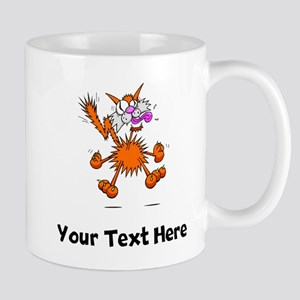 Crazy Cat (Custom) Mugs