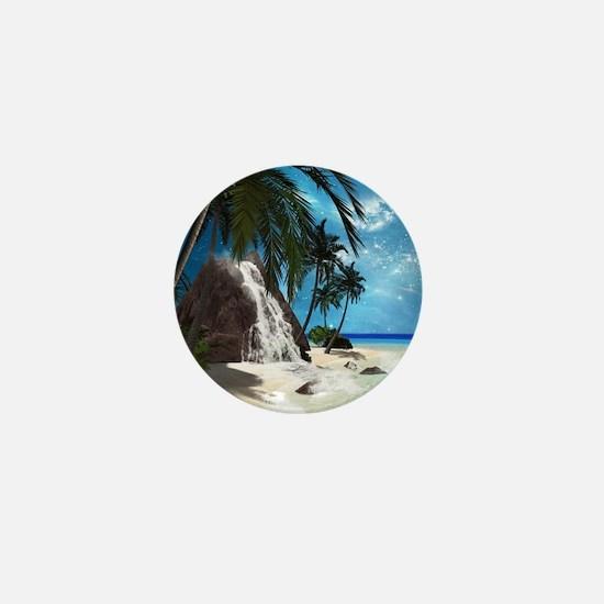 Seascape Mini Button