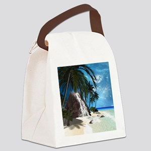 Seascape Canvas Lunch Bag