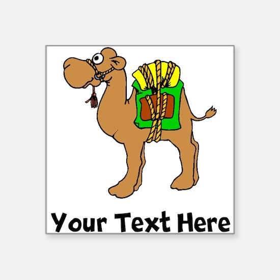 Camel With Gear (Custom) Sticker