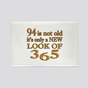 94 Is New Look Of 365 Rectangle Magnet