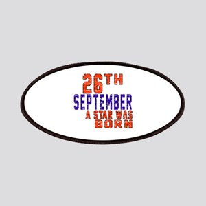 26 September A Star Was Born Patch