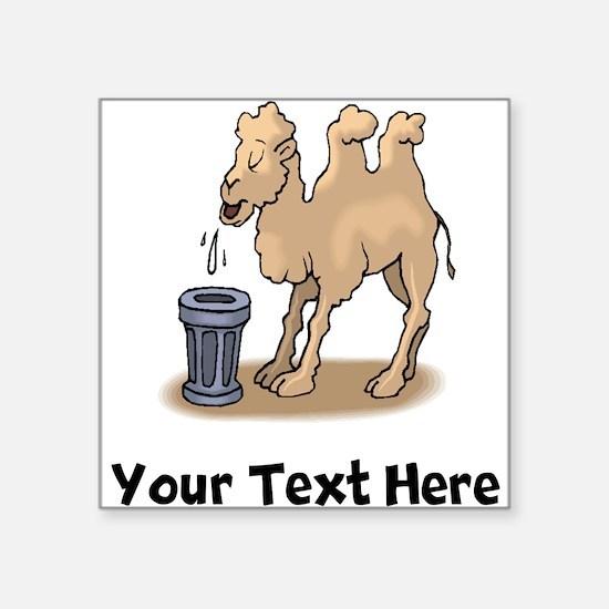 Camel Spitting (Custom) Sticker