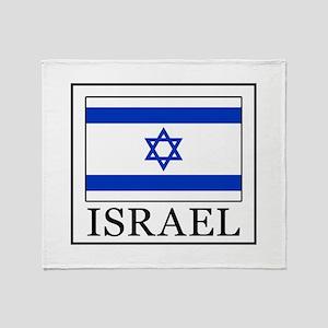 Israel Throw Blanket