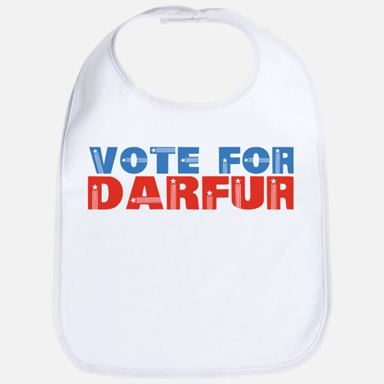 VOTE FOR DARFUR Bib