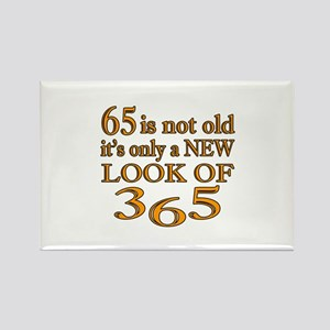 65 Is New Look Of 365 Rectangle Magnet