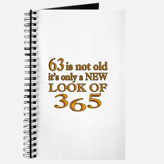 63 Is New Look Of 365 Journal