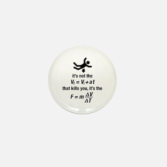 Funny Geek Mini Button