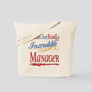 Incredible Manager Tote Bag