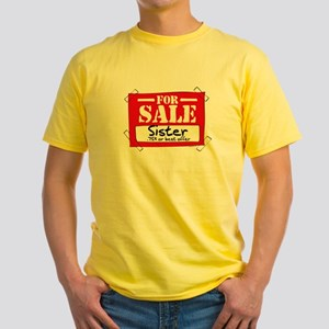 Sister For Sale Yellow T-Shirt