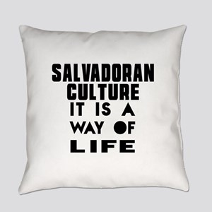 Salvadoran Culture It Is A Way Of Everyday Pillow