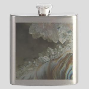 Ocho Agate Geode Flask