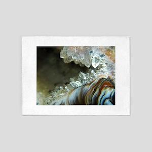 Ocho Agate Geode 5'x7'Area Rug