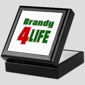 Brandy For Life Keepsake Box