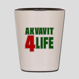Akvavit For Life Shot Glass