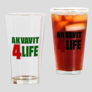 Akvavit For Life Drinking Glass