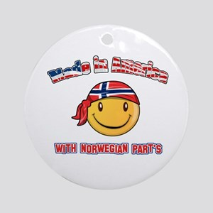 Made in America with Norwegian parts Ornament (Rou