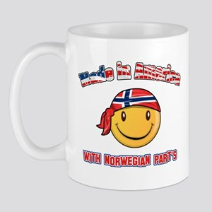 Made in America with Norwegian parts Mug