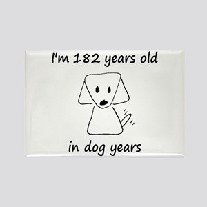 26 Dog Years 6-2 Magnets