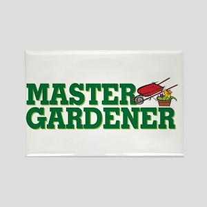 Master Gardener Rectangle Magnet