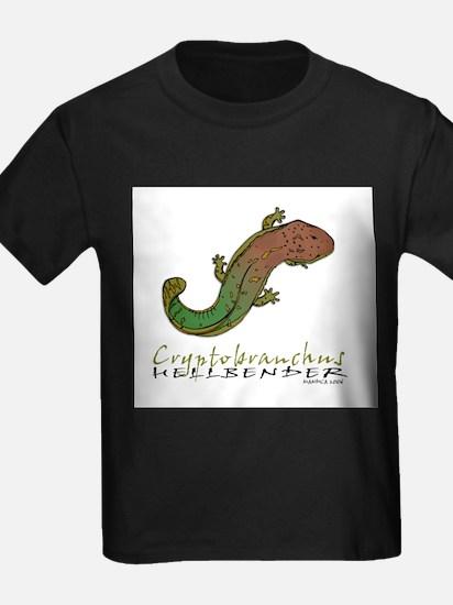 Cryptobranchus Ash Grey T-Shirt
