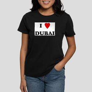 I Love Dubai Ash Grey T-Shirt
