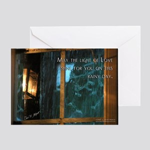 Light of Love Sympathy Card