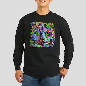 Pop Art Kitten Long Sleeve T-Shirt