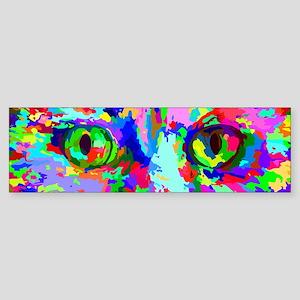 Pop Art Kitten Bumper Sticker