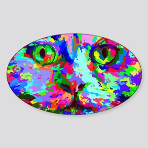 Pop Art Kitten Sticker